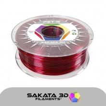 Sakata filamento PET-G 1kg ruby