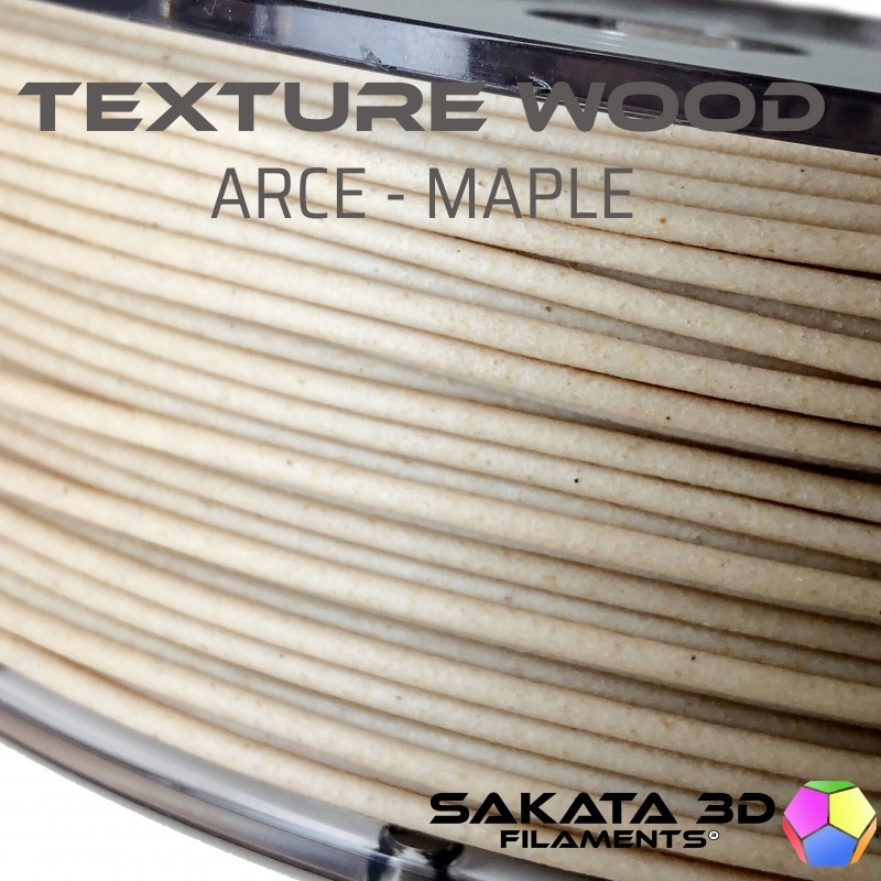 Filamento de madera Sakata Texture Wood Arce-Maple, 1,75mm | 450gr