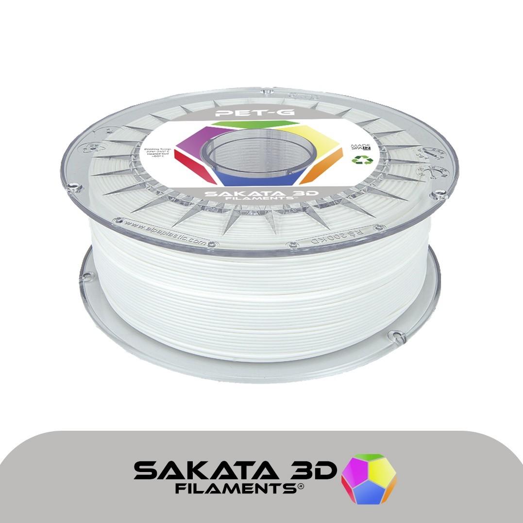 Sakata filamento PET-G 1kg blanco [AGOTADO]