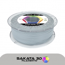 Sakata filamento HR PLA 870 1kg gris  [AGOTADO]