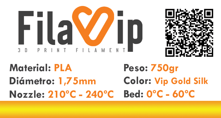 FilaVIP PLA ESPECIAL Vip Gold Silk