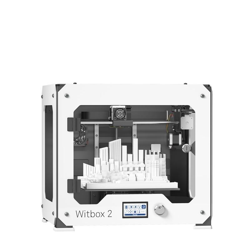 Bq WitBox 2 Impresora 3D Blanca + asistencia técnica 1 mes