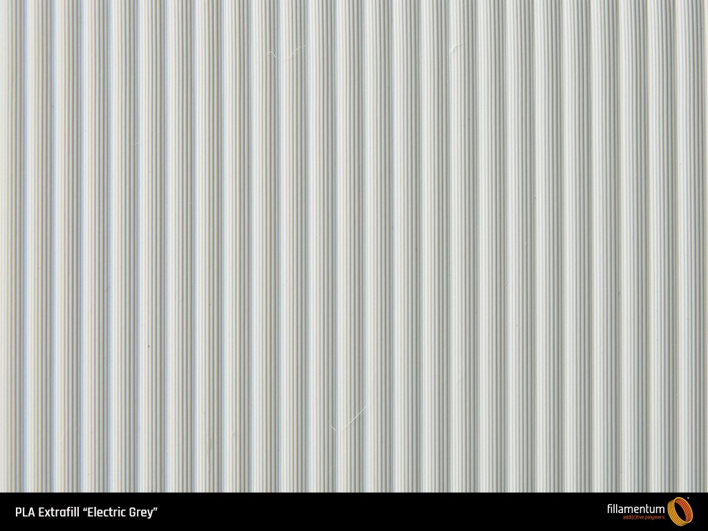 Bobina filamento FILLAMENTUM PLA Extrafill Electric grey