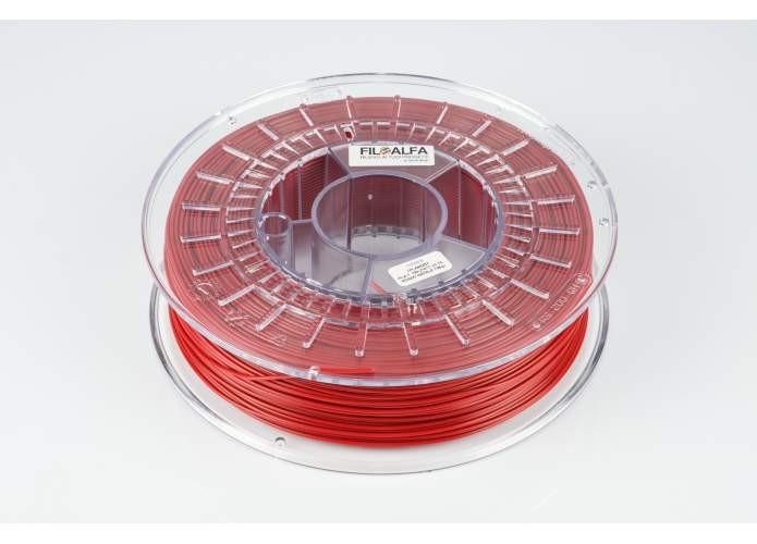 FILOALFA PLA CHRISTMAS RED 700gr Ø 1.75 MM (Rojo navideño perlado)
