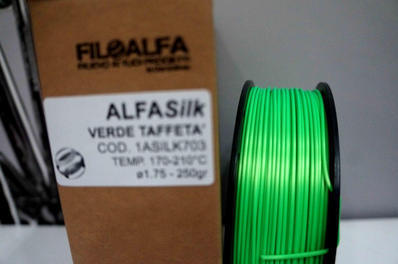 PLA Silk Alfasilk Filoalfa 250gr Verde Taffeta