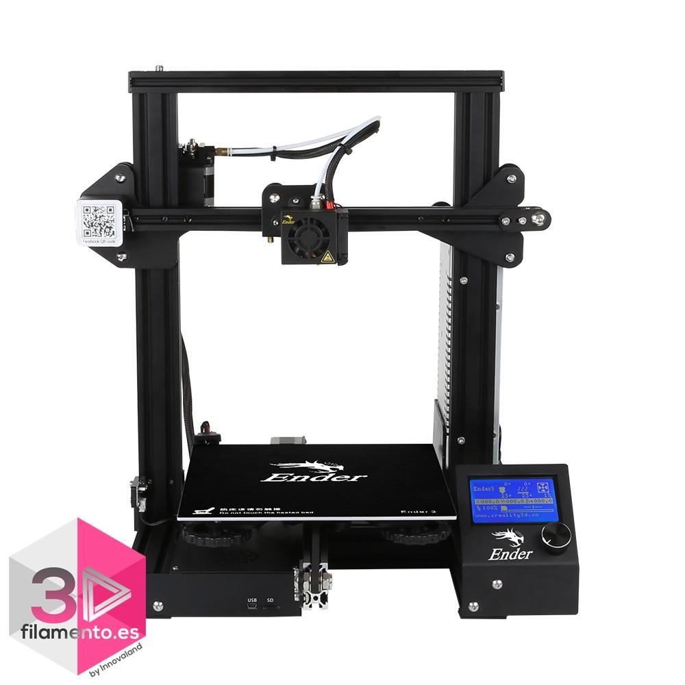 Ender 3 Creality impresora 3D 220x220x250mm  + asistencia técnica 1 mes [AGOTADO]