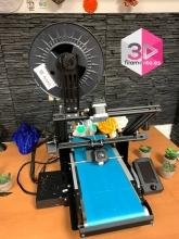 Impresora 3D infinita 45º montada + curso + asistencia técnica 6 meses