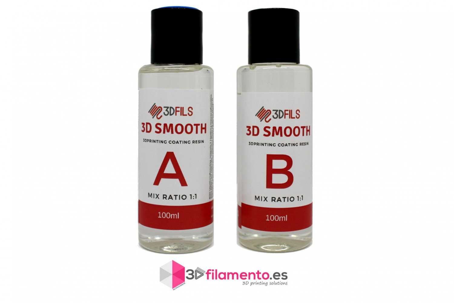 3D Smooth-200ml alisado de piezas impresas
