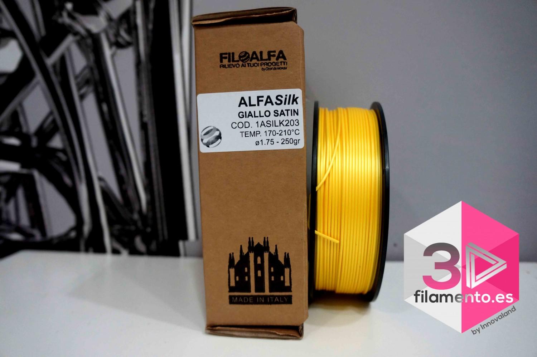 PLA Silk Alfasilk Filoalfa 250gr Amarillo Satin
