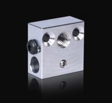 Bloque aluminio para hotend Creality Ender 3 / CR-10