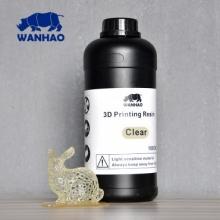 Resina UV Wanhao para impresora 3D SLA DLP [1000ml] Transparente [ENTREGA DE 5 A 7 DÍAS]