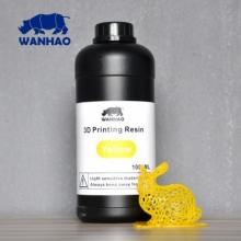 Resina UV Wanhao para impresora 3D SLA DLP [1000ml] Amarillo [ENTREGA DE 5 A 7 DÍAS]