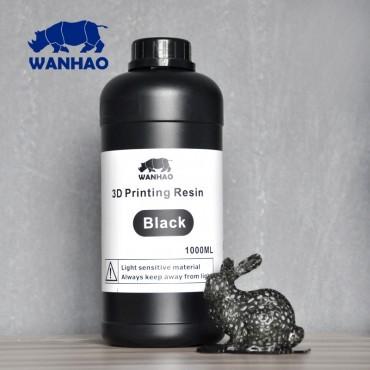 Resina UV Wanhao para impresora 3D SLA DLP [1000ml] Negro [ENTREGA DE 5 A 7 DÍAS]