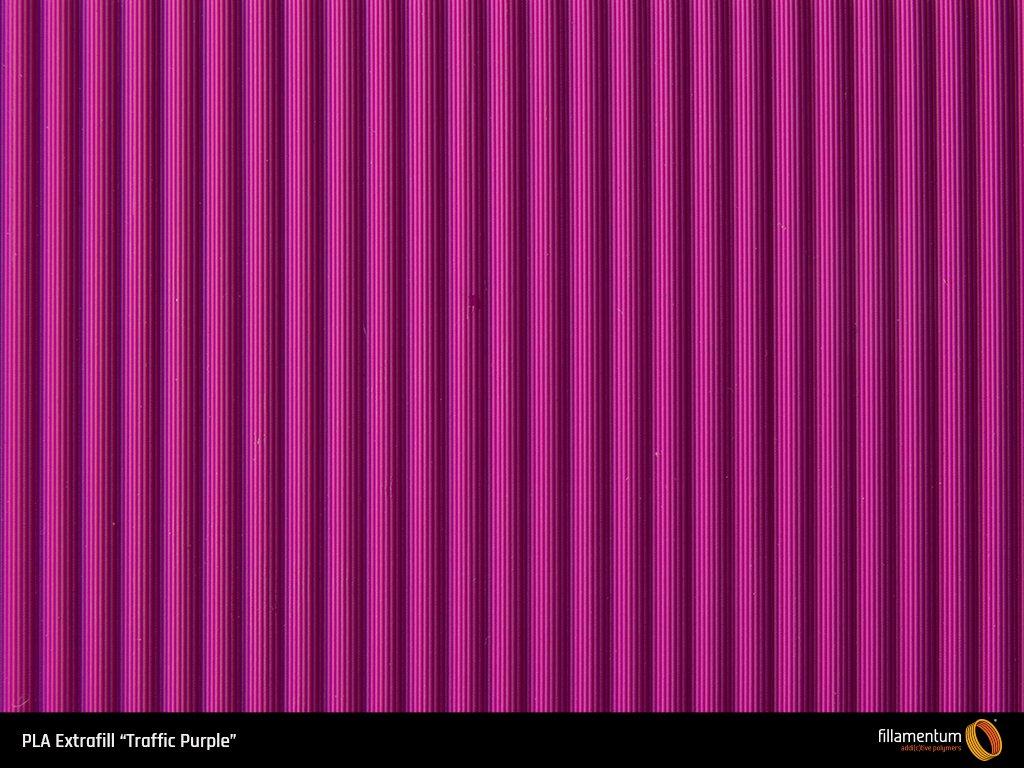 Bobina filamento FILLAMENTUM PLA Extrafill Traffic Purple