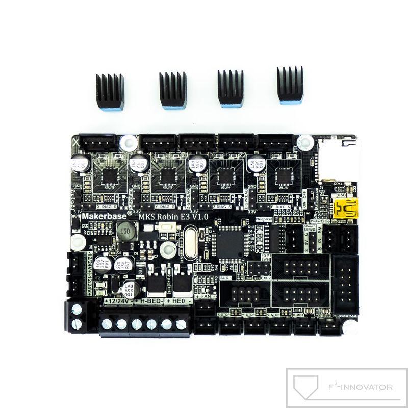 Electrónica 32 bit silenciosa TMC 2209 para Ender 3