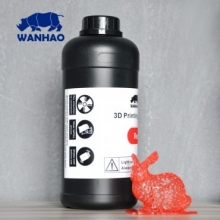 Resina UV Wanhao para impresora 3D SLA DLP [1000ml] Rojo  [ENTREGA DE 5 A 7 DÍAS]