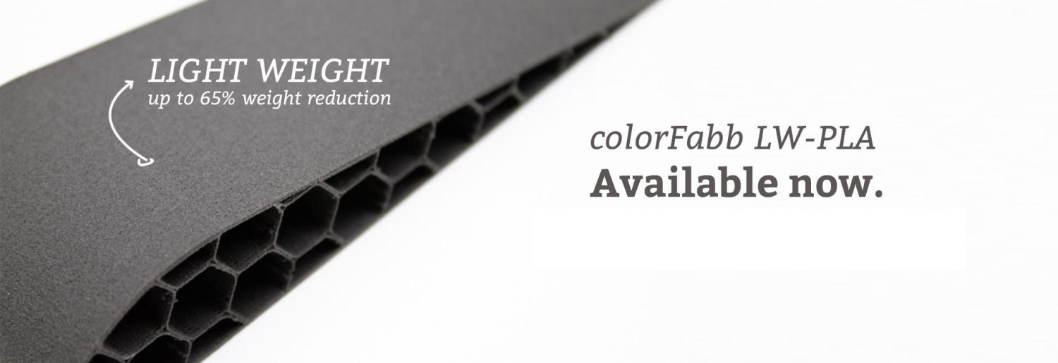 ColorFabb LW-PLA BLACK [AGOTADO]
