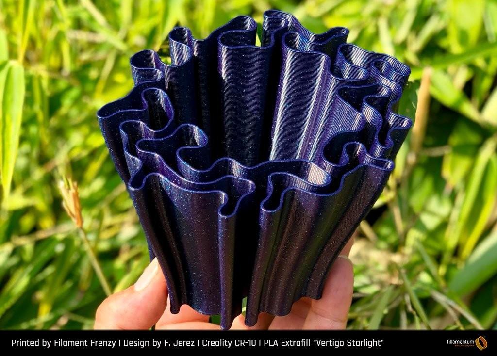 Bobina filamento FILLAMENTUM Extrafill premium PLA Vertigo Starlight