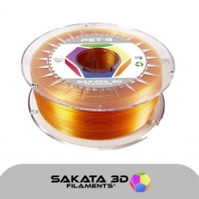 Sakata filamento PET-G 1kg ambar  [AGOTADO]