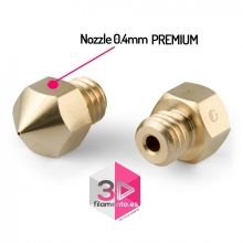 Nozzle PREMIUM 0,4mm para Creality Ender 3, CR-10, Witbox
