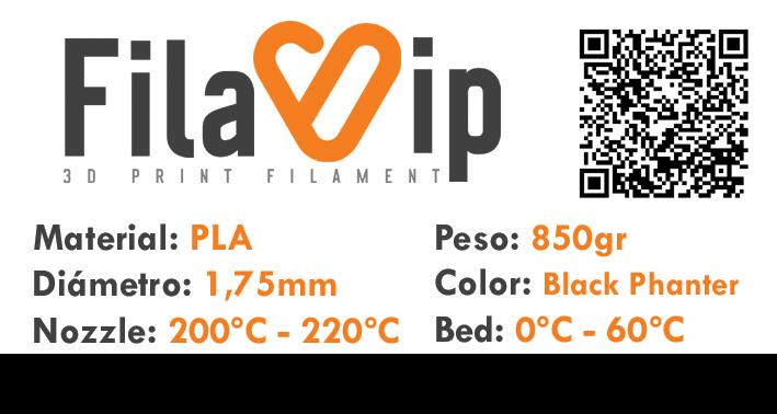 FilaVIP PLA Black Phanter