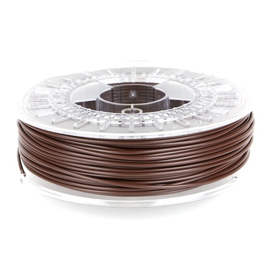 Bobina filamento ColorFabb PLA/PHA Chocolate brown