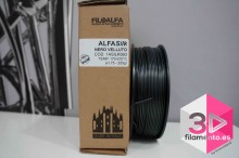 PLA Silk Alfasilk Filoalfa 250gr Negro Velluto