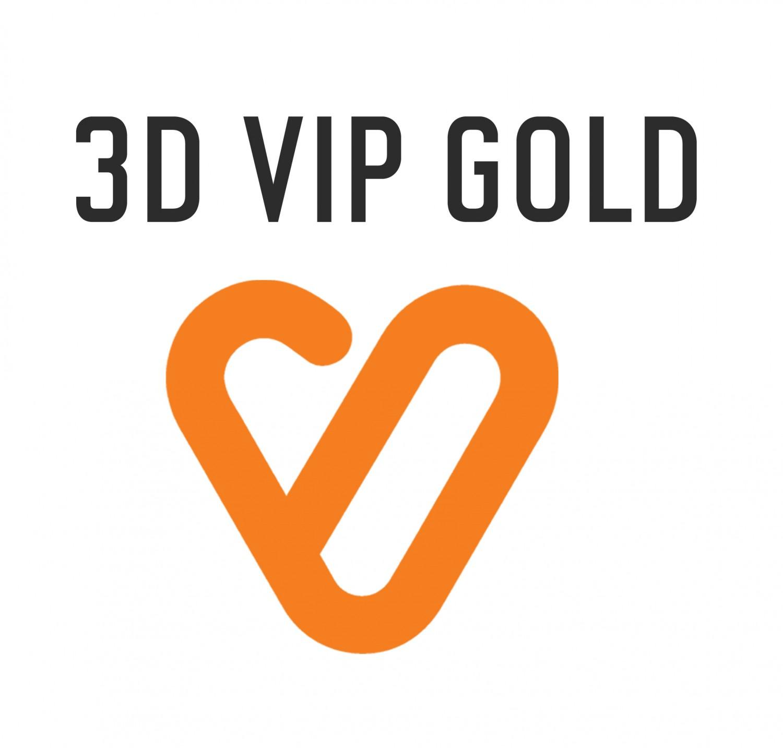Pago entrada 3D VIP SUSCRIPCIÓN GOLD