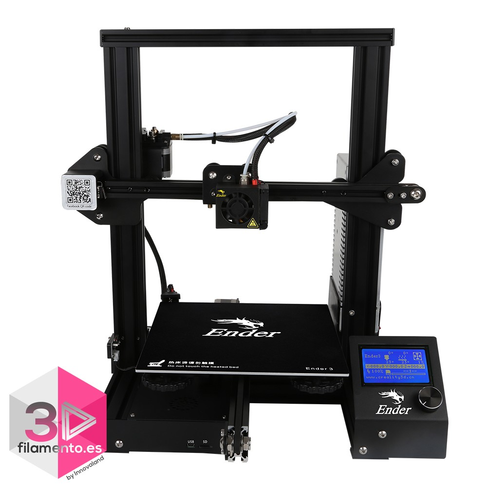 Ender 3 Creality impresora 3D 220x220x250mm  + asistencia técnica 1 mes