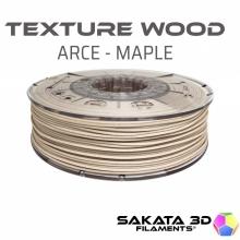 Filamento de madera Sakata Texture Wood Arce-Maple, 1,75mm | 450gr