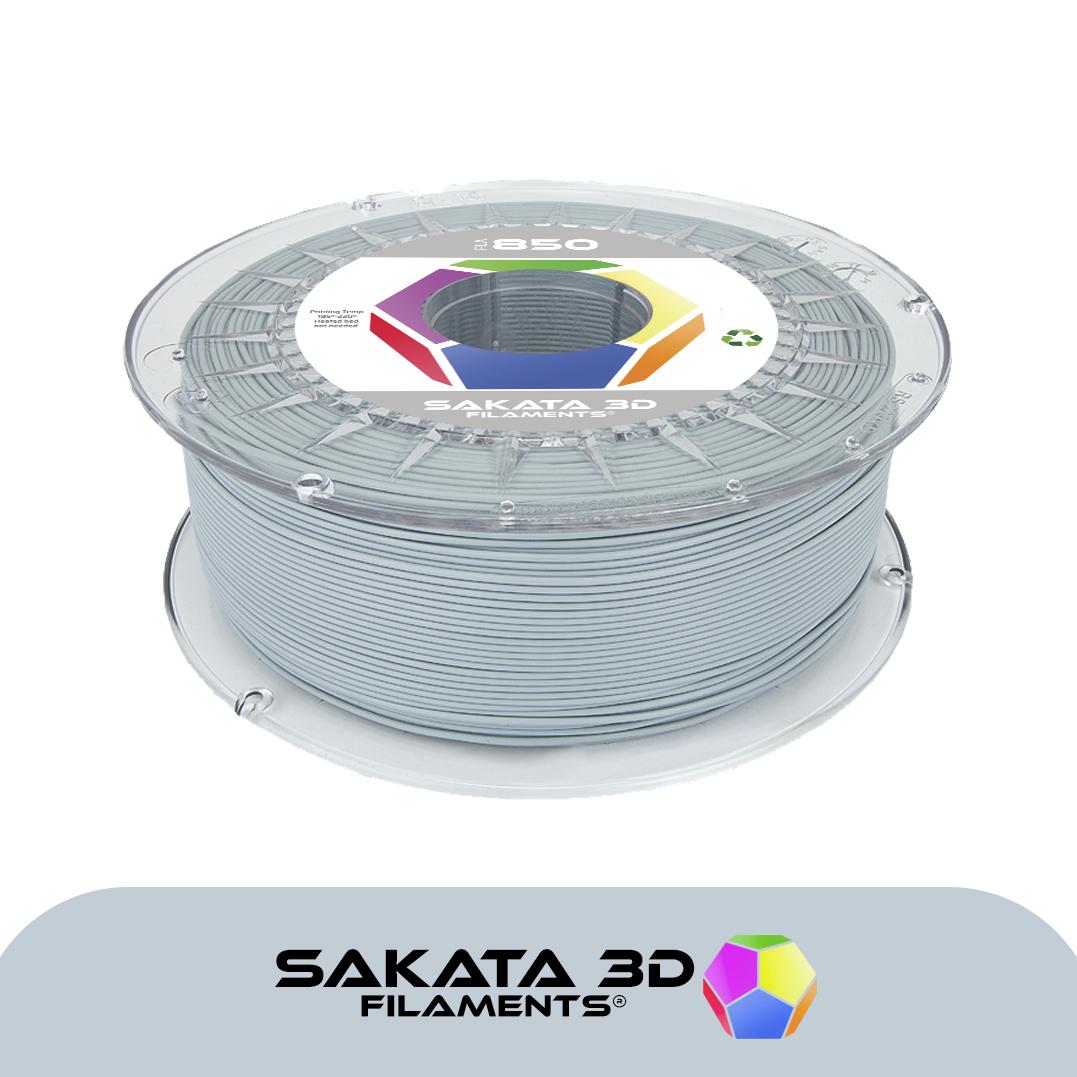 Filamento Sakata PLA 850 1KG Gris